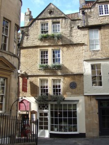 Time for tea at Sally Lunn's